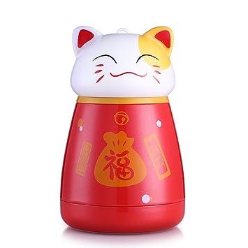 Oneisall - Taza de viaje para gatos, botella de agua para niños, botella de