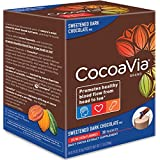CocoaVia Sweetened Dark Chocolate, 30 Count