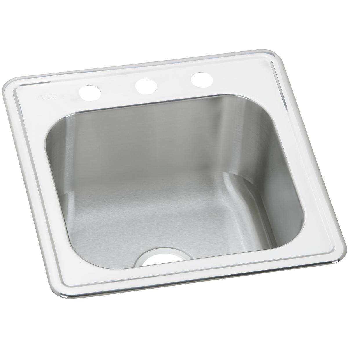 Elkay ESE2020101 Celebrity Single Bowl Drop-in Stainless Steel Laundry Sink