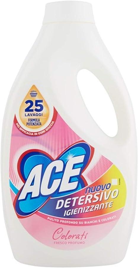 Ace+ - Detergente líquido para lavadora de colores, 1500 ml ...