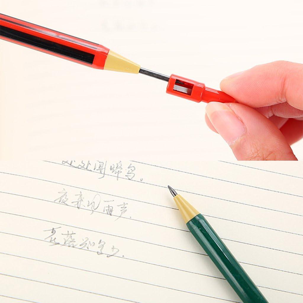 consegna casuale Yangfr 1SET portamine ricaricabili tipo con refill box semplice click 2.0/mm per scrivere progetto disegno fai da te