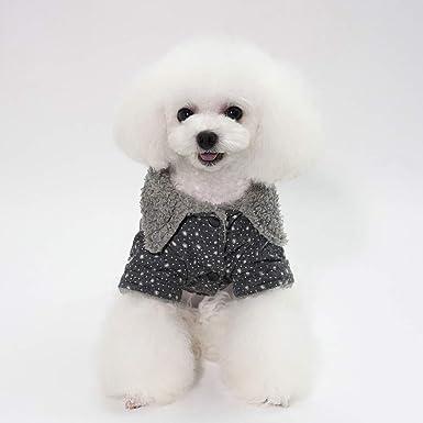 Ropa para Mascotas,Dragon868 Invierno Caliente Mascotas Ropa de Perro pequeño Punto de Estrella suéter Abrigos: Amazon.es: Ropa y accesorios
