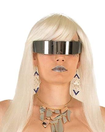 Amazon.com: Gafas envolventes con espejo, talla única para ...