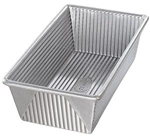 USA Pan 1150LF Bakeware Aluminized Steel 1 1/2 Pound Loaf Pan Large