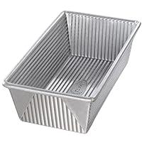 USA Pan Bakeware Aluminized Steel 1 1/2 Pound Loaf Pan