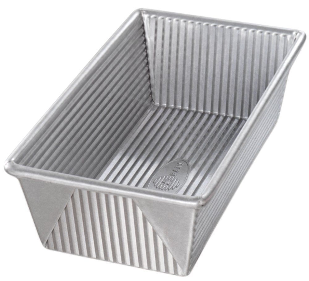 USA Pan Bakeware Aluminized Steel 1 1/2 Pound Loaf Pan by USA Pan