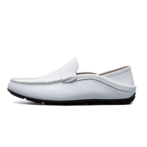 Botia Mocassins en Cuir Véritable Hommes Glisser Sur des Chaussures Bateau  Plat  Amazon.fr  Chaussures et Sacs e21cd4b7dfaa