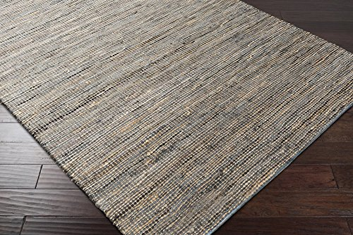 Loomed Natural Fiber Accent Rug, 3-Feet 6-Inch by 5-Feet 6-Inch (3656 Natural)