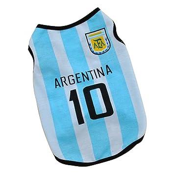 Amazon Com Haogo Pet Puppy World Cup Argentina Jerseys Small Dog