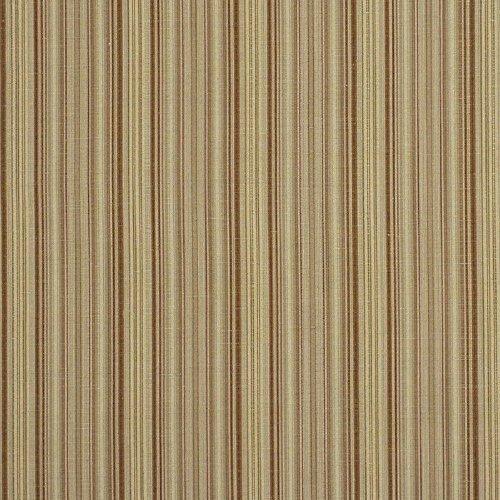 Fabric Robert Allen Beacon Hill Hancock Stripe Teak Linen Wool Drapery ()
