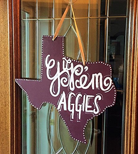 custom-maroon-and-white-texas-am-gig-em-aggies-wood-door-hanger