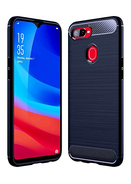 the best attitude 2a4ce 4c0ad ECellStreet® Rubberised Soft Back Cover Protective Case for Oppo Realme 2  Pro (Black)