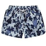 Ms.Gaga Couples Floral Print Shorts Summer Beach pants swim breathable casual shorts