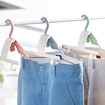 Amazon.co.jp  WINOMO ズボンハンガー 干し ハンガー 洗濯