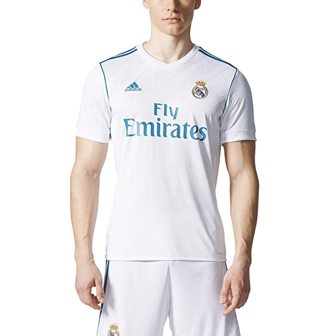 abb7e44a1 adidas Real Madrid Home Replica Jersey Men's Soccer: Amazon.ca: Clothing &  Accessories