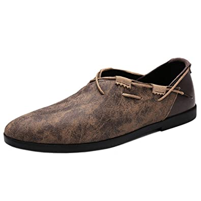 Men Leisure Slip On Loafer Shoes Low Top Footwear