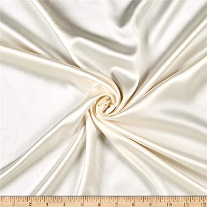 Luxury Soft Silky Fabric for Lingerie Costume Gift Box Lining Bedding Charmeuse