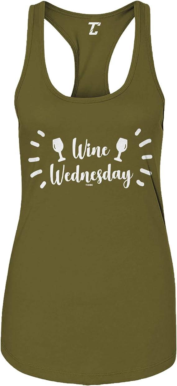 Wine Wednesday - Funny Wino Drinker Women's Tank Top