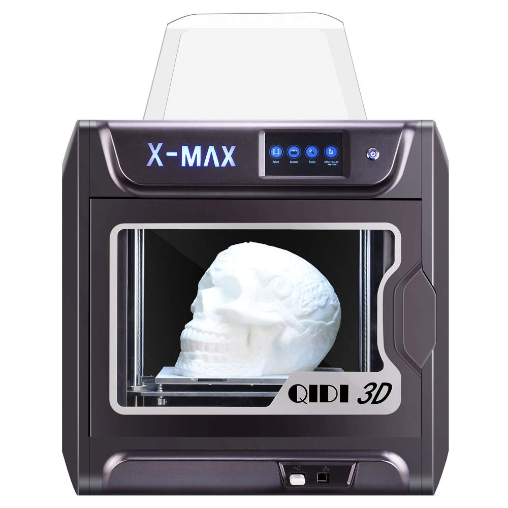 QIDI TECH Large Size Intelligent Industrial Grade 3D Printer New Model:X-max,5 Inch Touchscreen,WiFi Function,High Precision Printing with ...