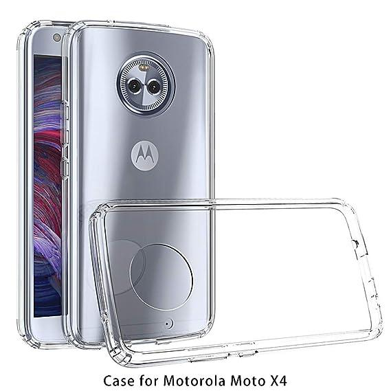 Amazon.com: RKINC para Motorola Moto X4 Funda, Esquinas ...