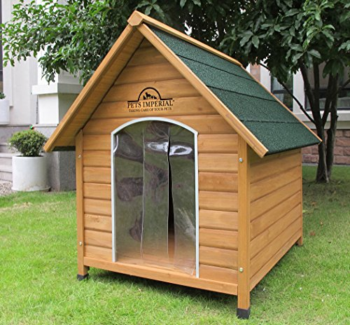 Pets Imperial Medium Wooden Sussex Dog Kennel With Removable Floor For Easy Cleaning B