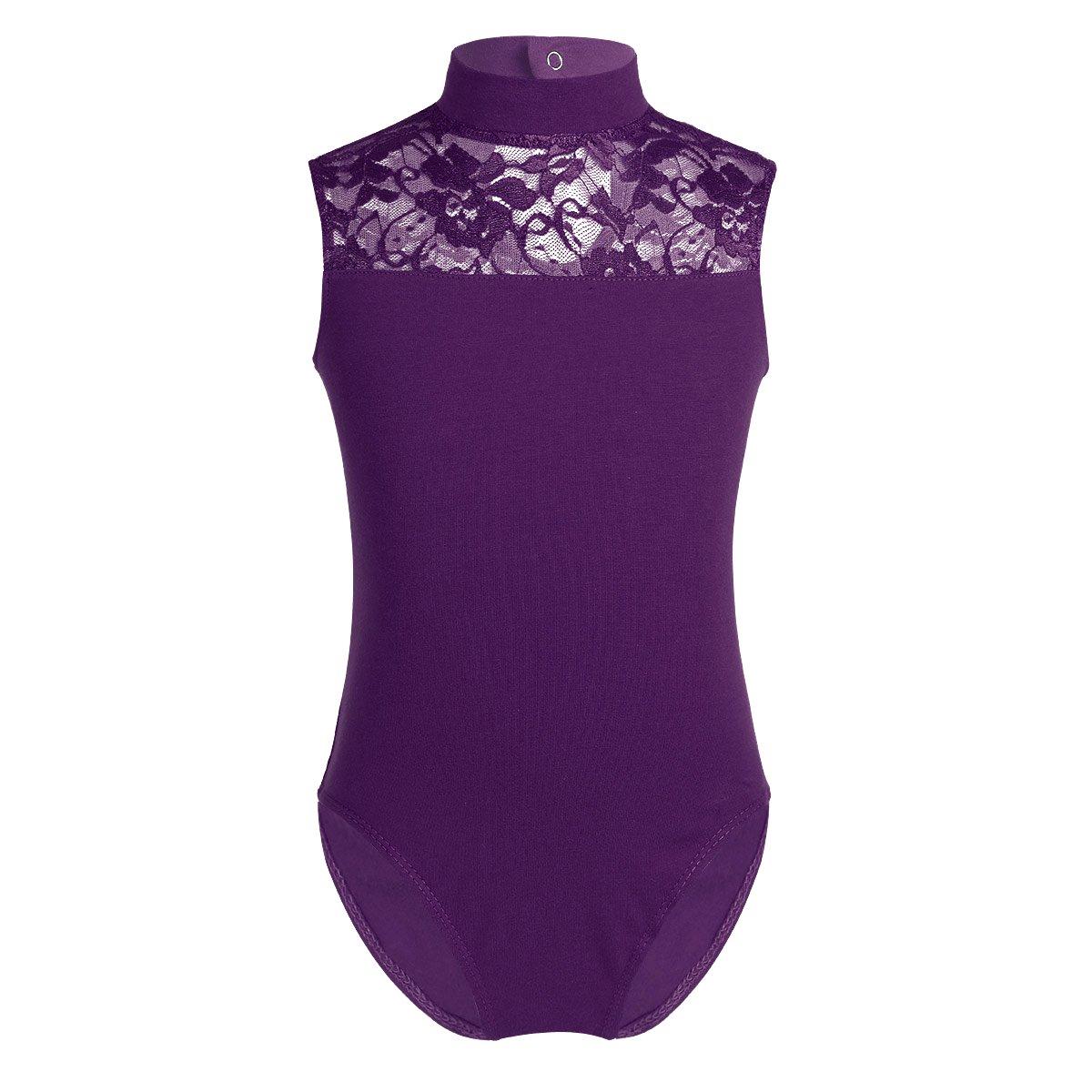 YiZYiF SOCKSHOSIERY ガールズ B07F9M7X5P 10|Turtle-neck Purple Turtle-neck Purple 10