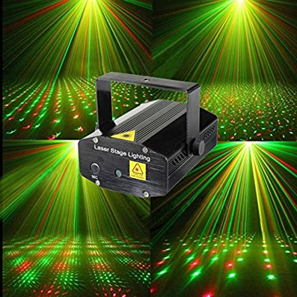 xmas stage light blue lights red led mini projector cheap club music portable wedding lighting green show party dj disco laser product and