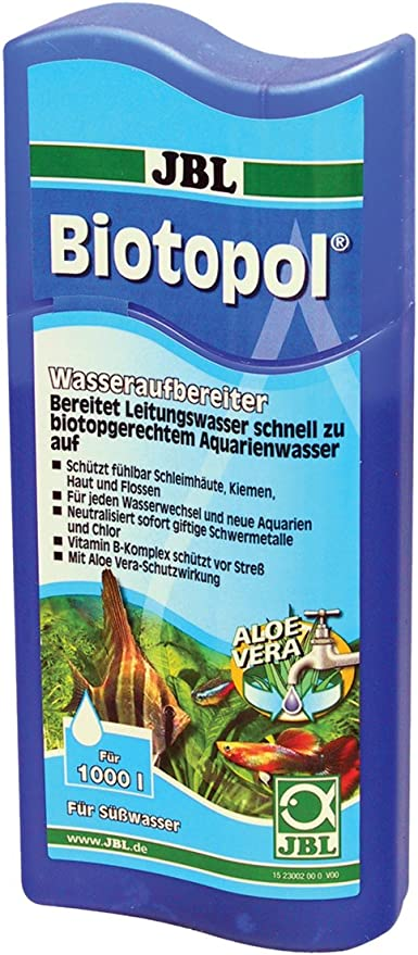 JBL de purificador de Agua para acuarios de Agua Dulce, biotopol ...
