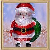 Needleart World Diamond Dotz Diamond Embroidery Facet Art Kit 8''X8''-Santa Claus Sack