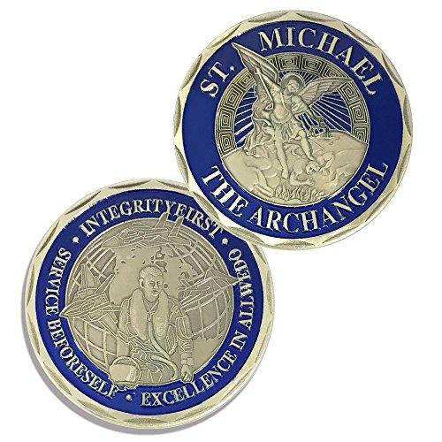 St Michael Air Force Enforcement Values Challenge Coin (Challenge Coin Air Force)
