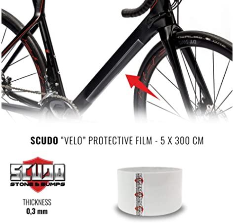 MSC Bikes IMPAKTMATT Protector de Cuadros y vainas, Transparente, 1.2 x 50 x 5 m: Amazon.es: Deportes y aire libre