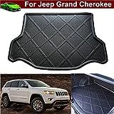 1pcs Car Mat Boot Mat Carpet Cargo Liner Cargo Mat Trunk Liner Cargo Tray Floor Mat Custom Fit for Jeep Grand Cherokee 2014 2015 2016 2017 2018 (Will not fit for Jeep Cherokee)