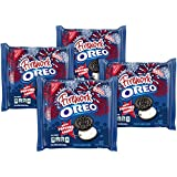 Oreo Firework with Popping Candy Chocolate Sandwich Cookies, 10.7 Ounce (Pack of 4)