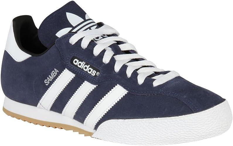 Adidas Originals Samba Super Baskets en daim pour homme Bleu