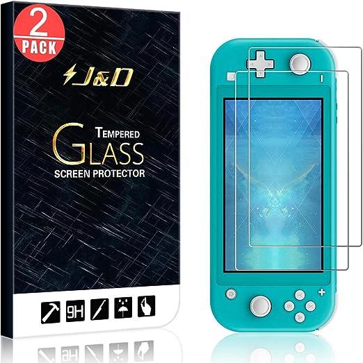 J&D Compatible para Nintendo Switch Lite Protector de Pantalla, 2 ...