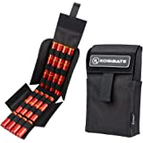 Kosibate HOT 25 Round Shotgun Shotshell Reload Holder Molle Pouch for 12 Gauge/20G (Black)