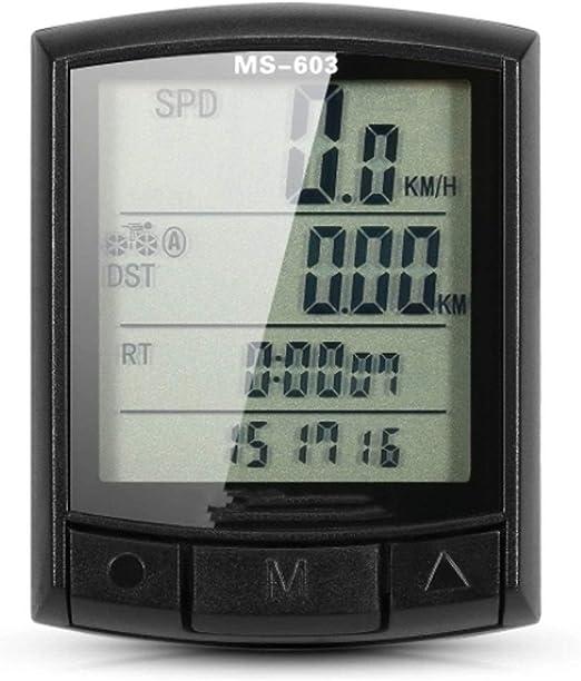 Cuentakilómetros La Bicicleta de Ciclo Bici de la computadora del ...