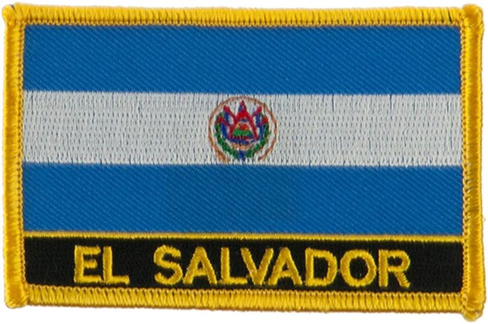 Bahamas W01S12E North and South America Flag Embroidered Patch