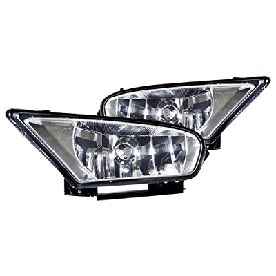 Winjet WJ30-0136-09 OEM Series for [2005-2007 Honda Odyssey] Clear Lens Driving Fog Lights + Switch + Wiring Kit: Automotive