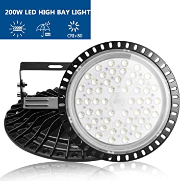 500W 300W 200W 100W 50W LED High Bay Light Warehouse Industrial Commercial Light