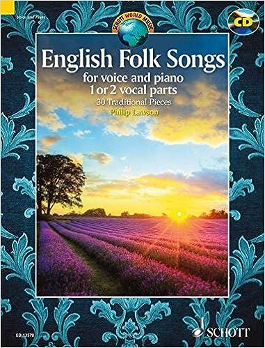 CD Voix English folk songs // Piano - 1 ou 2