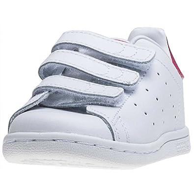 adidas - Originales de Stan Smith Texto en inglés y Zapatillas de niño Blanco/en negrilla Color Rosa Blanco Blanco Talla:Kids 09: Amazon.es: Deportes y aire ...