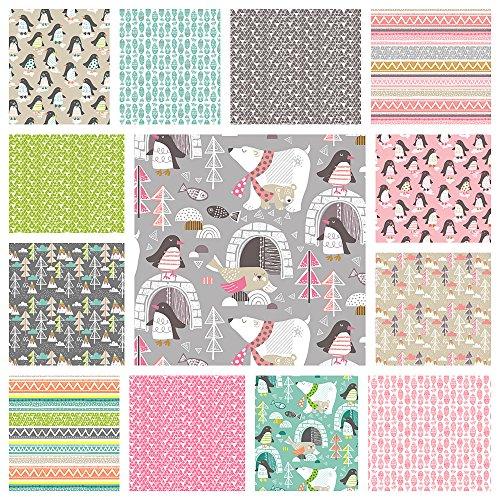 penguin quilt fabric - 2