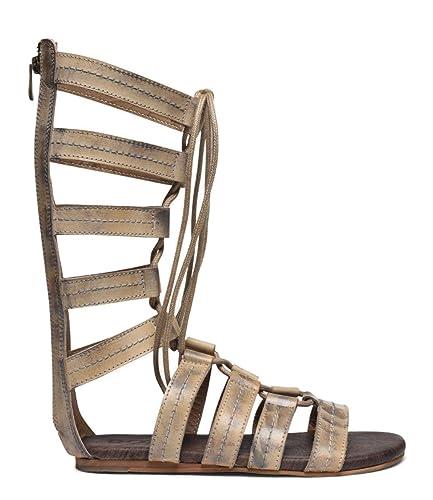 7de9c94d82b ROAN Women s Rhea Leather Sandal