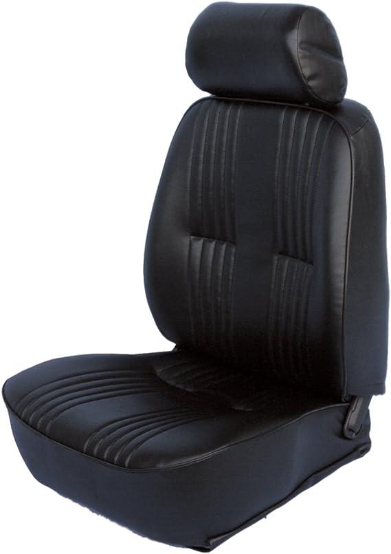 ProCar by Scat 80-1300-51L PRO-90 Series 1300 Black Vinyl Left Recliner Seat with Headrest