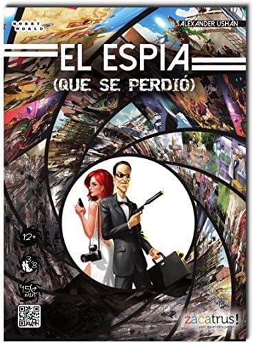 Zacatrus!-El El espía Que se perdió (ZAC008): Amazon.es: Juguetes ...