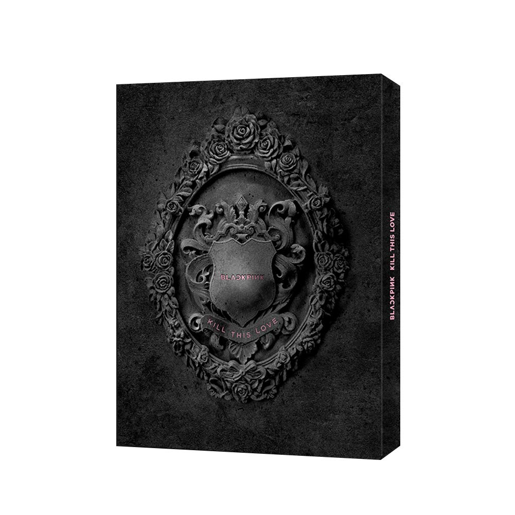 YG Entertainment [Official] Select Blackpink 2ND Mini Album [Kill This  Love](Black Ver ) CD+The Box for CD+Photobook+The Lyrics Papers+The Folded