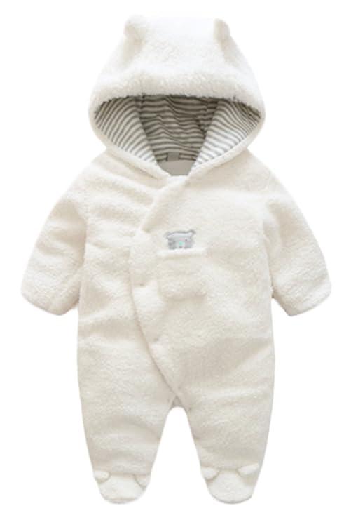 529298fc9 Este body está elaborado con un forro polar de coral muy suave y grueso  para la comodidad del bebé. Se ajusta desde el cuello hasta la entrepierna  y también ...