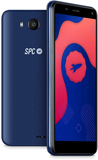 "SPC SMART LITE - Smartphone de 5"" (Dual SIM, 16GB de ROM ampliables, cámara de 5MP, Quad-Core 1,3GHz, 1GB RAM) – Color Azul: Amazon.es: Electrónica"