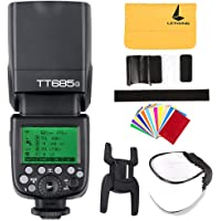 Godox TT685o TTL Flash Speedlite HSS 1/8000s GN60 Camera Flash Light for Olympus E-M10II E-M5II E-M1 E-PL8 E-PL7E-PL3 Pen-F Camera and Panasonic DMC-CX85 DMC-G7 DMC-GF1 DMC-LX100 DMC-G85 Camera